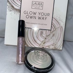 Laura Geller Glow Your Own Way kit, Diamond dust